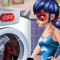 Washing Costumes Ladybug